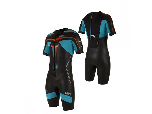 Z3R0D Swimrun Elite Traje Triatlón, black/atoll